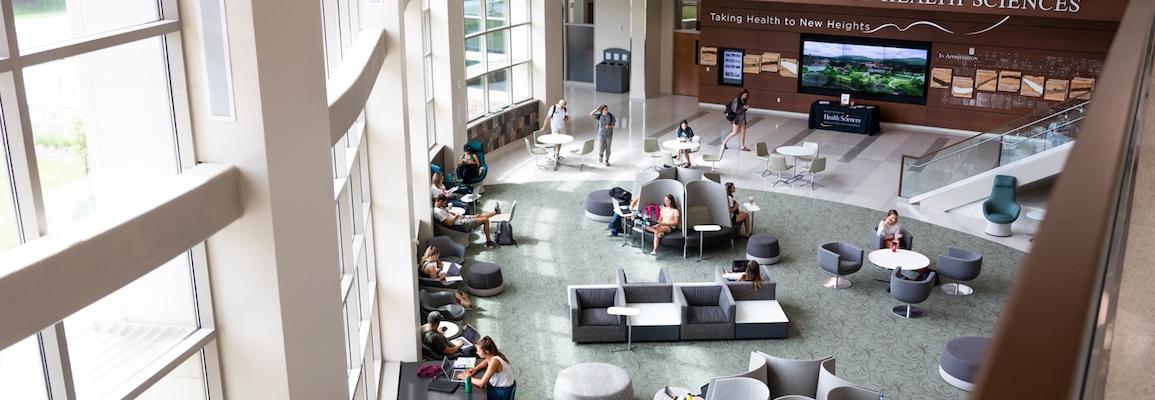 Levine Hall Atrium