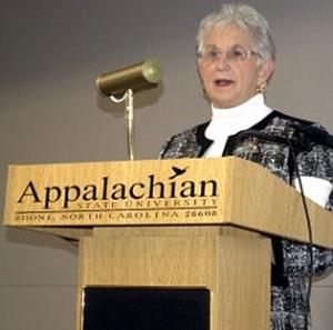 Congresswoman Virginia Foxx