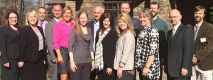 The inaugural class of the Chancellor's Academic Leadership Development Program