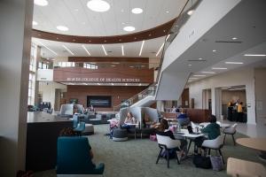 'Leon Levine Hall of Health Sciences' lobby