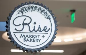 Rise Market & Bakery Sign