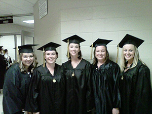 Members of the May, 2011 CHS Graduating Class