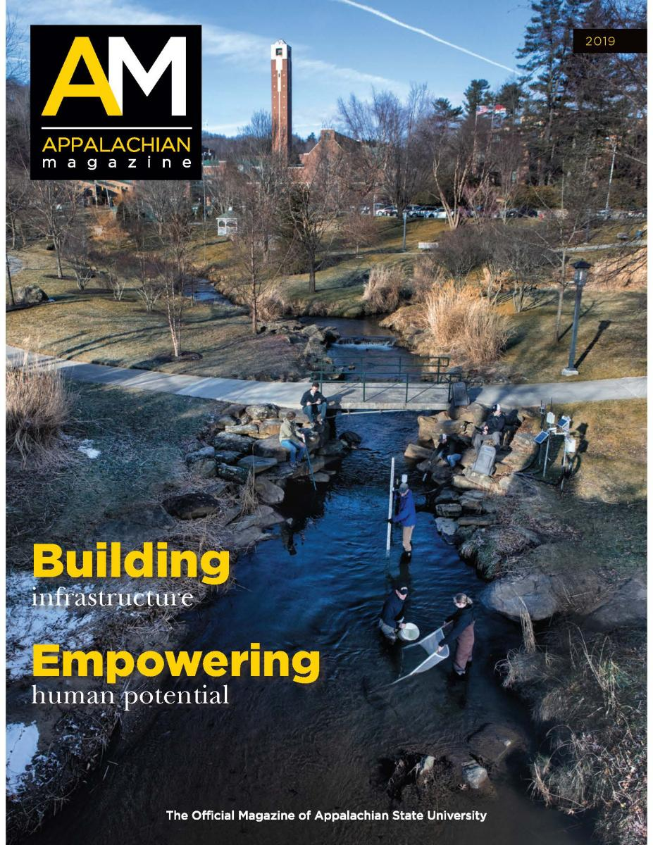 Cover of 2019 Appalachian Magazine