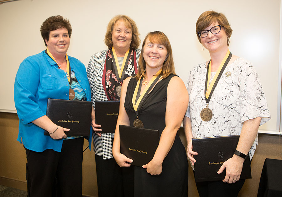 Staff excellence winners 2018