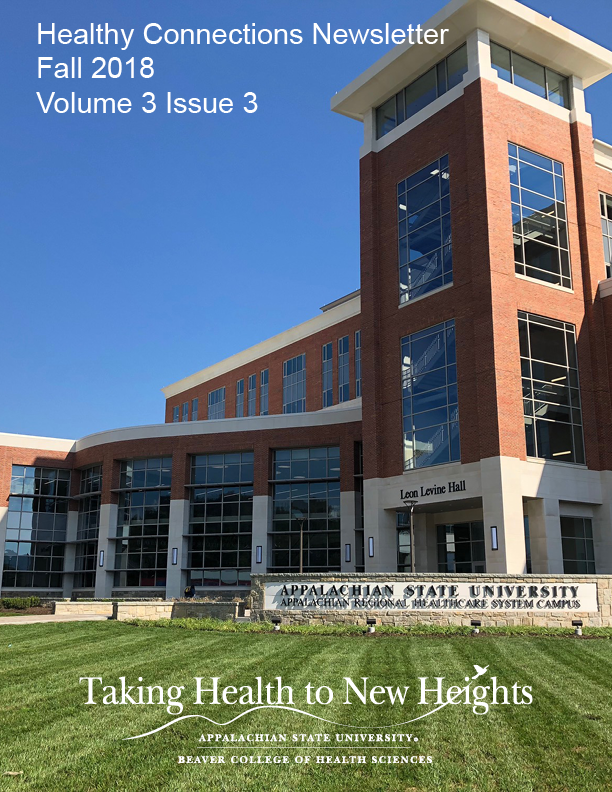 Healthy Connections Newsletter Fall 2018