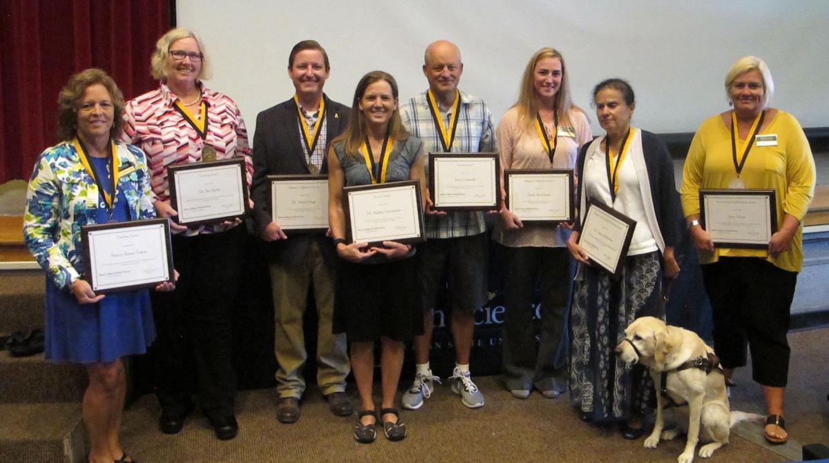 2018 Faculty & Staff Award Winners