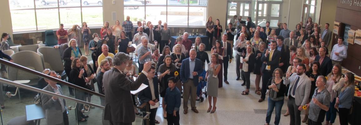 BCHS toast to Student Award winners