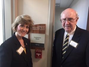 Dr. Wayne Miller and Joanna Lyall