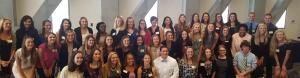 BCHS 2016 Scholarship Reception Group Photo