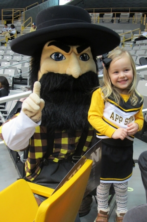 Yosef and AppState Fan