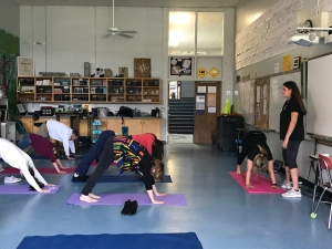 Yoga at Bethel School